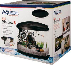 Aqueon LED MiniBow Aquarium